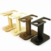 """""Hart Steel Straight/Safety Razor and Brush Stand"